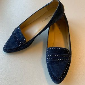 Talbots Pointed Toe Driving Slip-on Flats Loafers